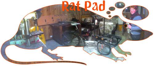 The Rat Pad — no more Rat Patrol workshop in Canberra? Let's hope not...